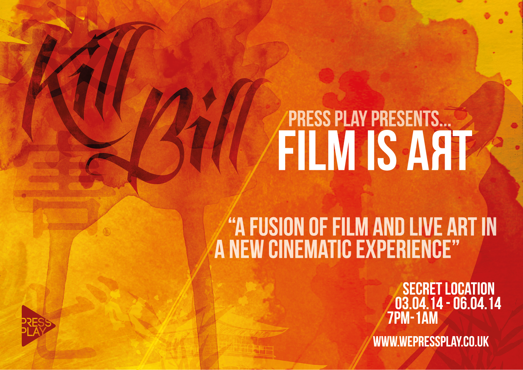 Press Play - 'Film is Art'