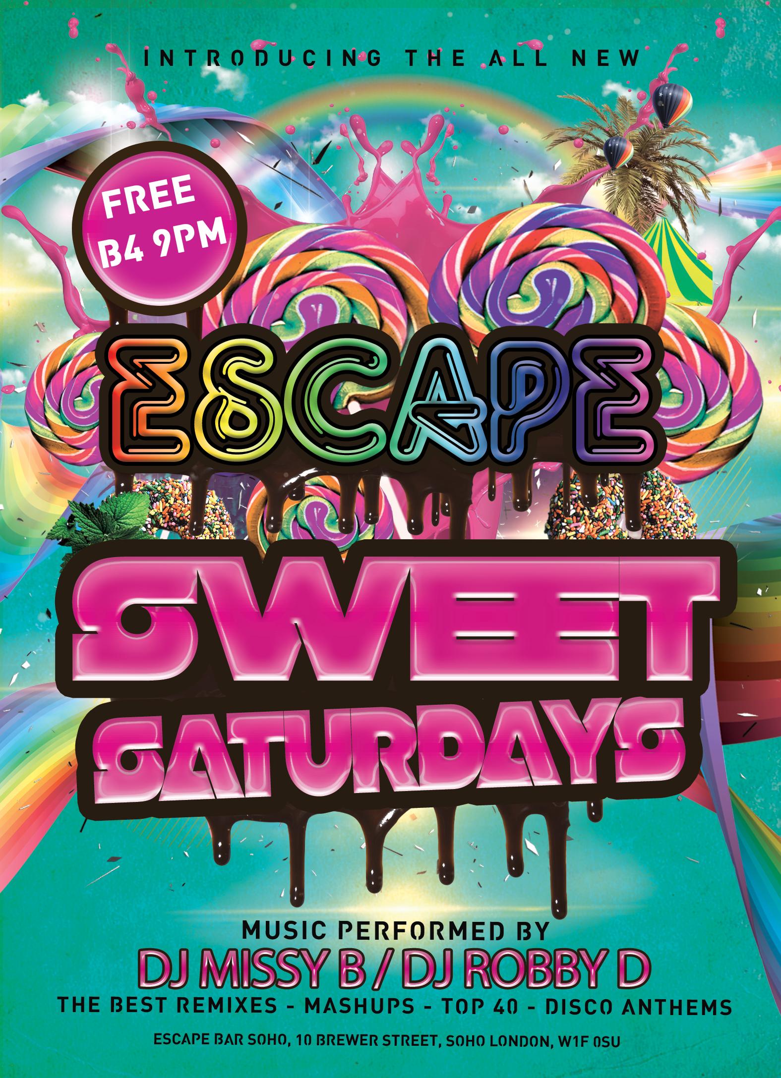 Sweet Saturdays   Soho, London Fun Time Partying Reviews