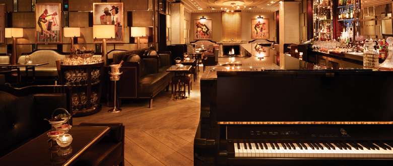 basson piano bar embankment london bar reviews designmynight. Black Bedroom Furniture Sets. Home Design Ideas