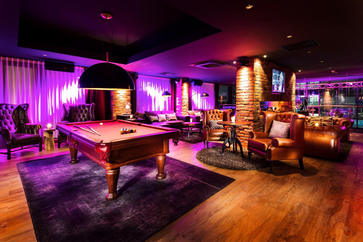 Pentalounge Pentalounge takes Birmingham hotel bars up a notch