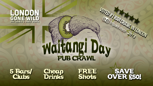 Waitangi Day Bar Crawl