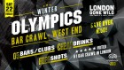 Winter Olympics Bar Crawl