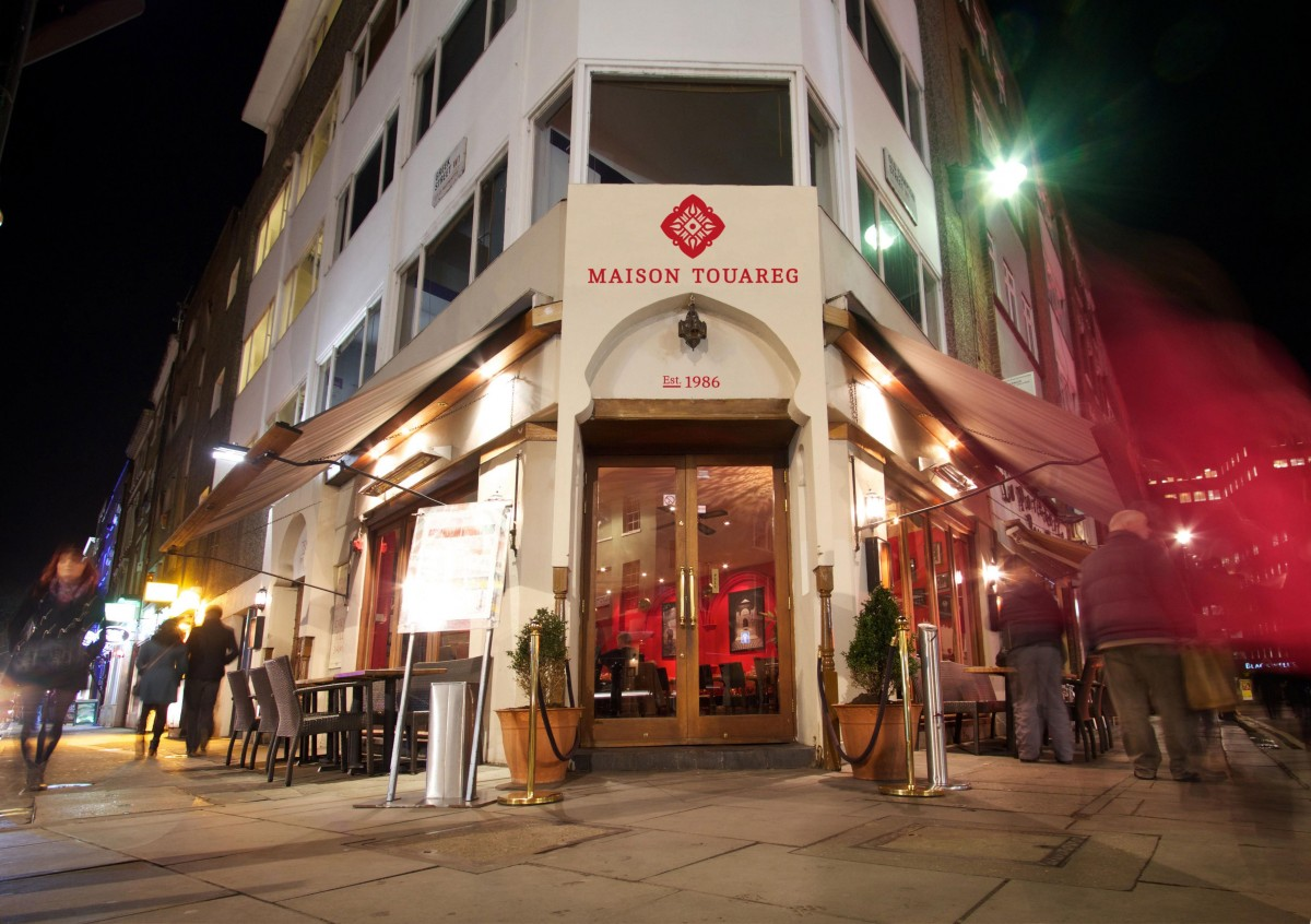Maison touareg soho london bar reviews designmynight for Maison london