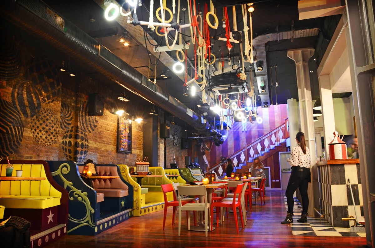 Quirky restaurant hire in london restaurants for