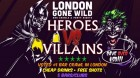 Heroes & Villains Bar Crawl