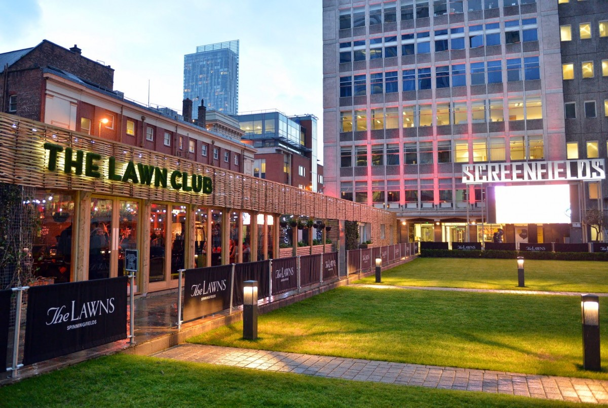 The Lawn Club Spinningfields to recieve a darling new British bar