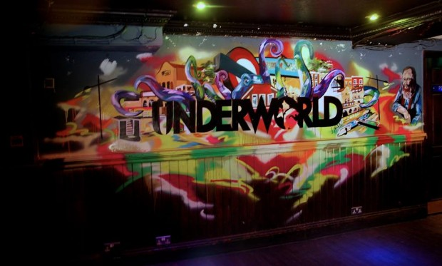 Camden Rocks Club at The Underworld Camden // Cheap drinks, rocking music!