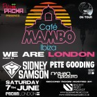 Cafe Mambo Ibiza on Tour with Sidney Samson