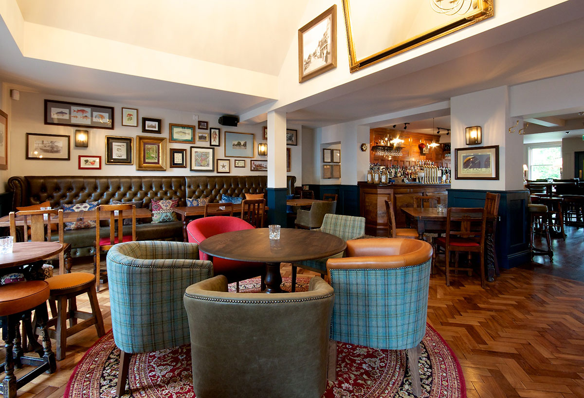The City Barge Thames Side Pub Gets Stunning Refurb