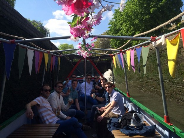 Canal Boat Party photo