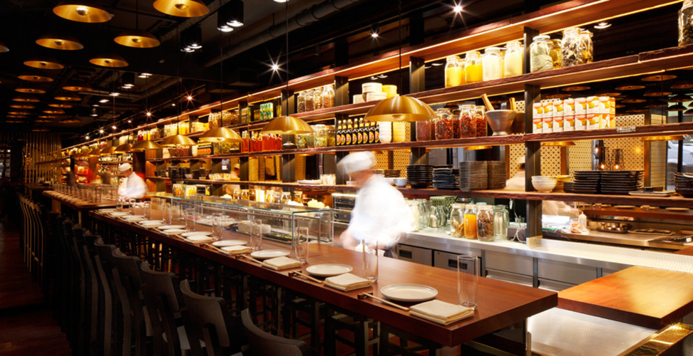 Sushi Bar At Spice Market Leicester Square London Bar Reviews Designmynight
