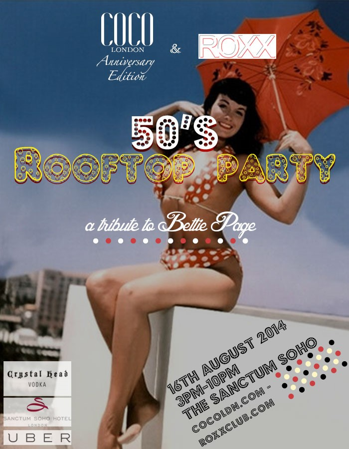 50s Rooftop Party
