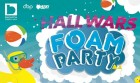HALLS WARS FRESHERS FOAM PARTY