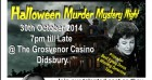 Halloween Comedy Murder Mystery Show & Meal