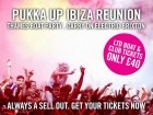 Pukka Up Ibiza Reunion. Thames Boat Party and Electric Brixton
