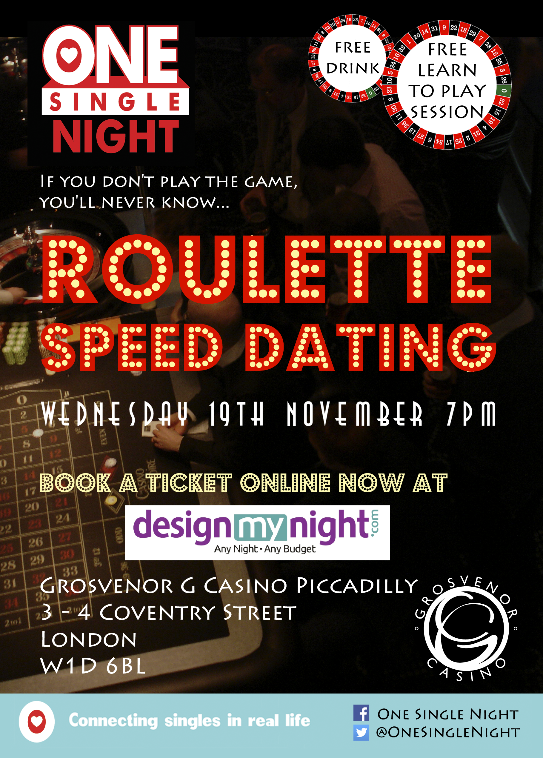 Online speed dating Roulette