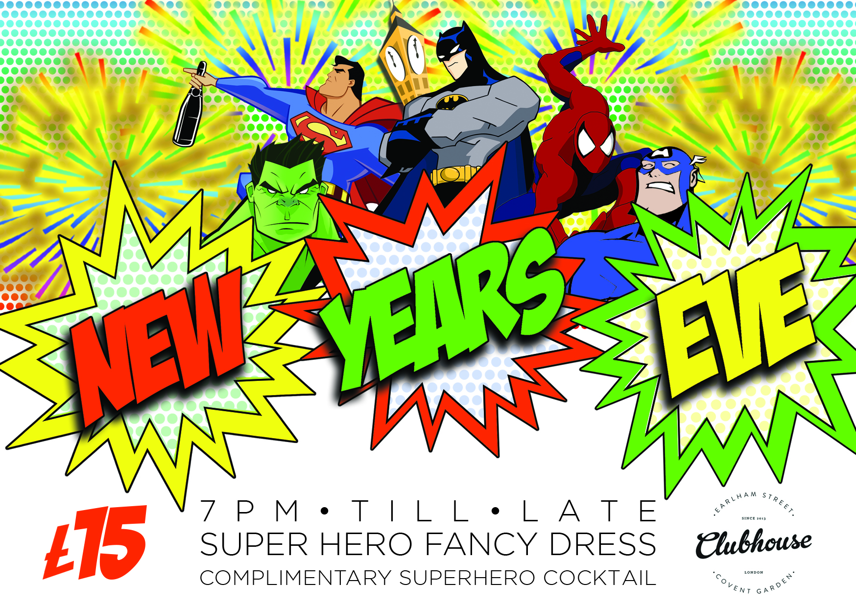 90's Super Hero: New Year's Eve