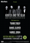 MaDa Music Presents - Hunter & The Bear + support 24.10.14
