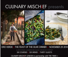 Feast of The Olive: CULINARY MISCHiEF in association with The Times+