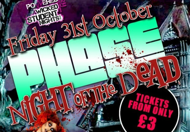 Phase Night of The Dead Halloween Spooktacular