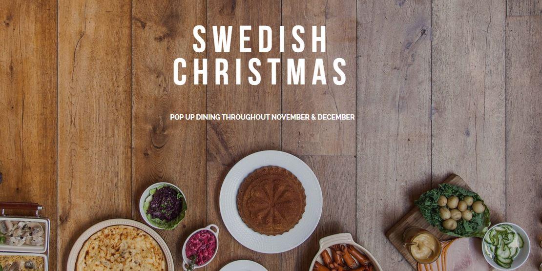 Skandilicious Swedish Christmas Restaurant Bar In Chelsea