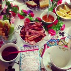 Christabel's Festive Mad Hatters Brunch