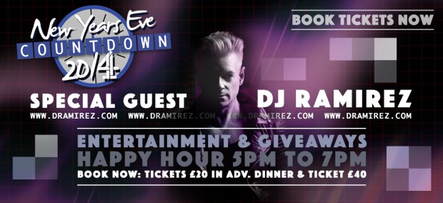 New Year's Eve Countdown With DJ Ramirez