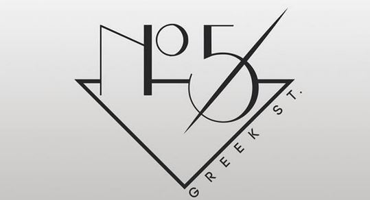 No. 5 Greek Street NYC inspired cocktail bar comes to Soho
