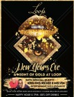 A Night of Gold NYE