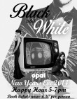 Black & White NYE Party