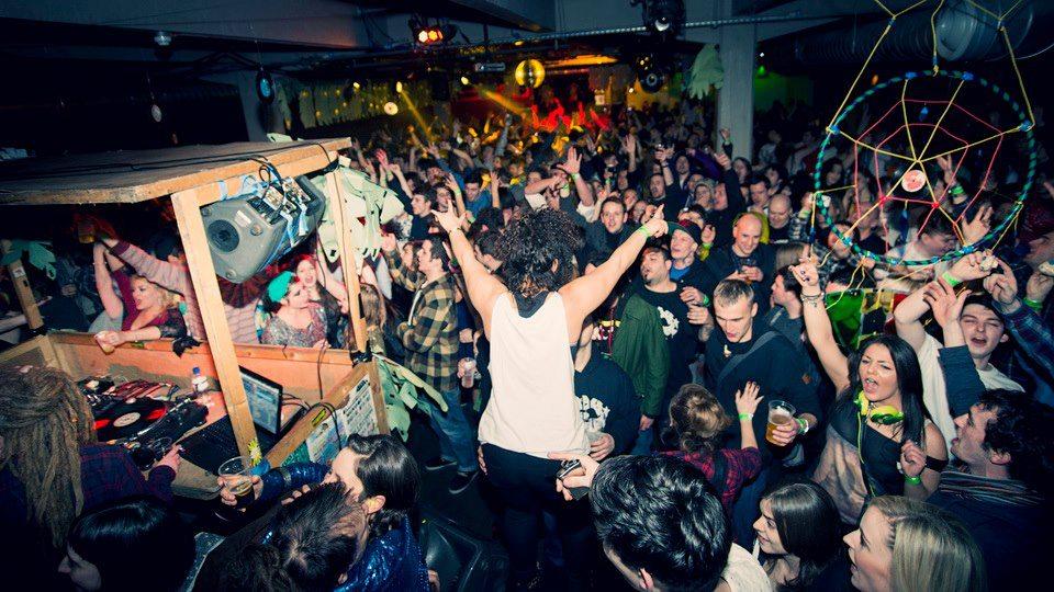 Streetrave S Warehouse Party West End Glasgow Clubbing