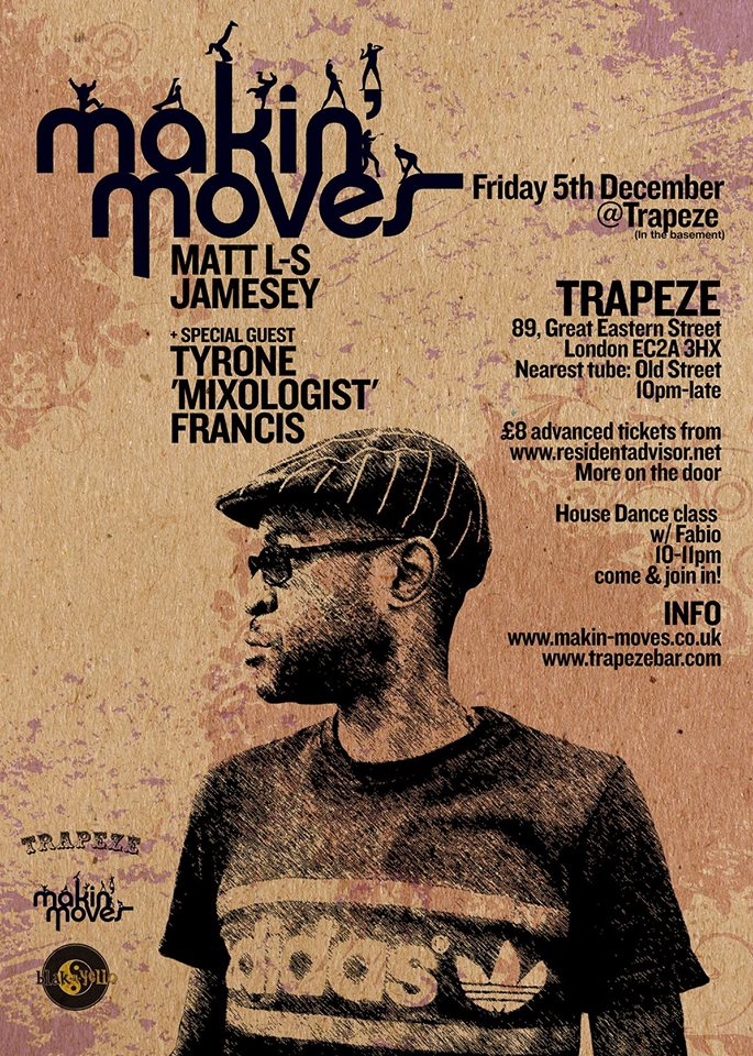Trapeze Bar Shoreditch: Makin' Moves With Tyrone 'Mixologist' Francis