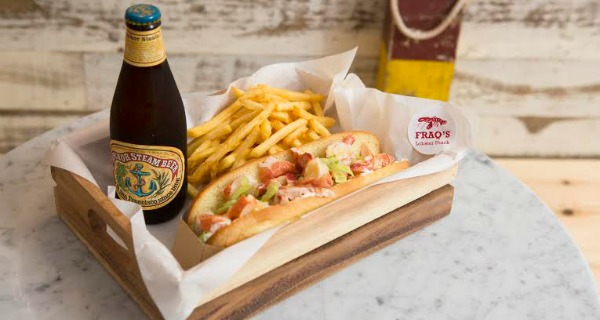 Fraq's Lobster Shack Head over to Goodge Street, and make it snappy.