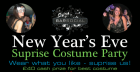 New Year's Eve Surprise Costume Party