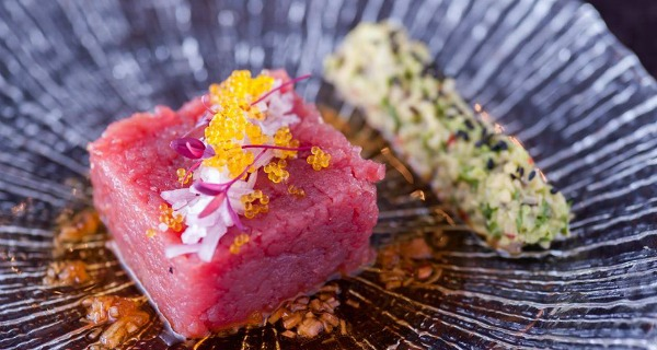 Murakami Now you sashimi, now you don't. Charming Eastern musings from new West End, Japanese restaurant