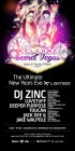 Twenty Fifteen present … Space - Secret Vegas this New Year's Eve