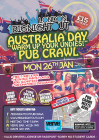 1 Big Australia Day Pub Crawl - The UK's Biggest Oz Day Crawl!