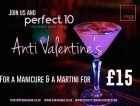 Anti Valentine's Day; Mani & Martini for £15