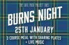 Burns Night at The Church