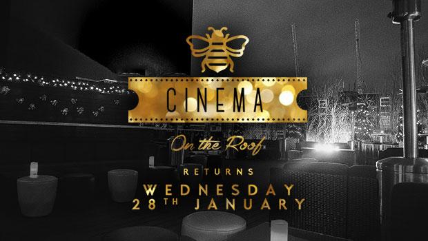 Golden bee roof terrace cinema golden bee london for Terraces cinema schedule