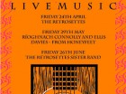 Live music from The Retrosettes Friday,
