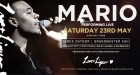 MARIO US R&B Recording Artist hosts and performs live