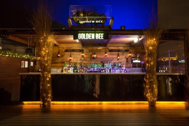 Golden Bee London Rooftop Bar Online Bookings Singer