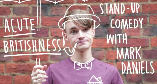 Acute Britishness: Stand-up comedy at the Brighton Fringe