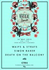 Vertical Beach Day Party with Waifs & Strays, Simon Baker & Death on the Balcony