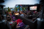 "Shoreditch Silver Screen rooftop cinema ""THE GRINCH"""