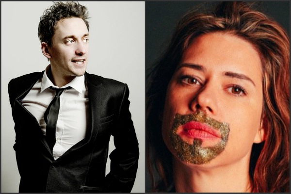 John Robins and Lou Sanders Edinburgh previews