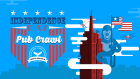 4th of July Bar Crawl Blowout!