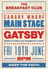 The Breakfast Club Canary Wharf presents GATSBY LIVE