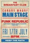 The Breakfast Club Canary Wharf presents FUNK REPUBLIC